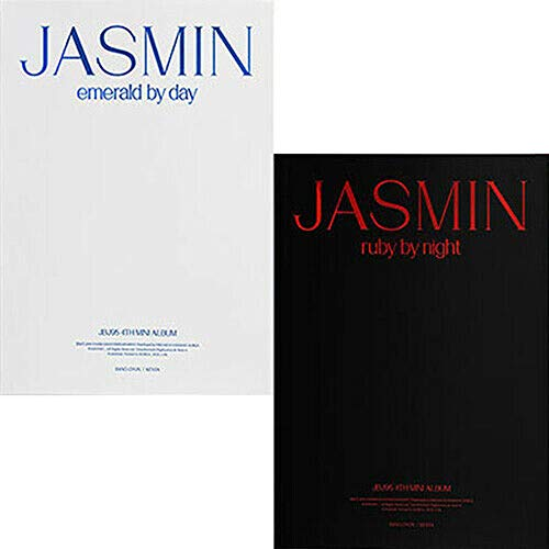 JBJ95 [JASMIN] 4th Mini Album [EMERALD BY DAY+RUBY BY NIGHT] 2 VER SET. 2p CD+1p POSTER+2p Photo Book(64p)+2p Poster(On pack)+2p Post Card+4p Photo Card+TRACKING CODE K-POP SEALED