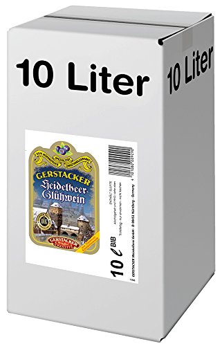 GERTSACKER Heidelbeer-Glühwein (1 x 10 l Bag-in-Box)