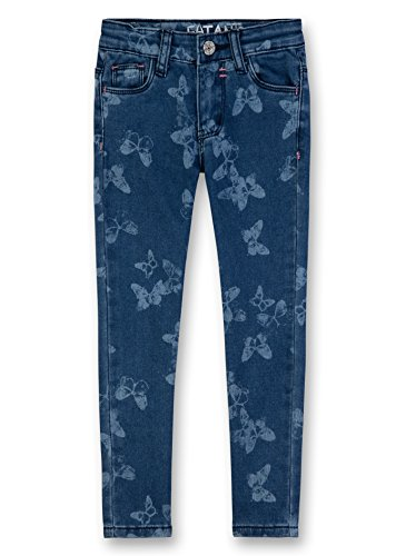 Sanetta Mädchen 124862 Jeans, Blau (Urban Blue 9543), 104