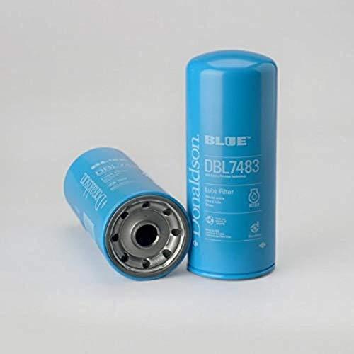 Donaldson DBL7483 Lube Filter (Spin-on Full Flow, Donaldson Blue)