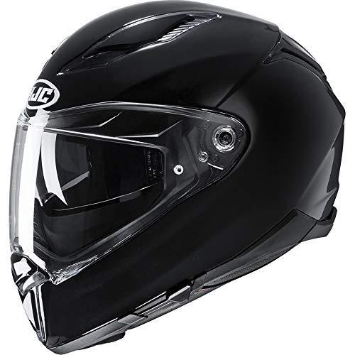 HJC F70 Black 2XL (Black - XL)