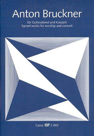 Bruckner für Gottesdienst und Konzert. Chorbuch