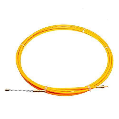 EsportsMJJ 5/15/25m Lengte x 6mm Dia. Glasvezel draad kabel trekker buis piercing apparaat glasvezel kabel trekker 15m