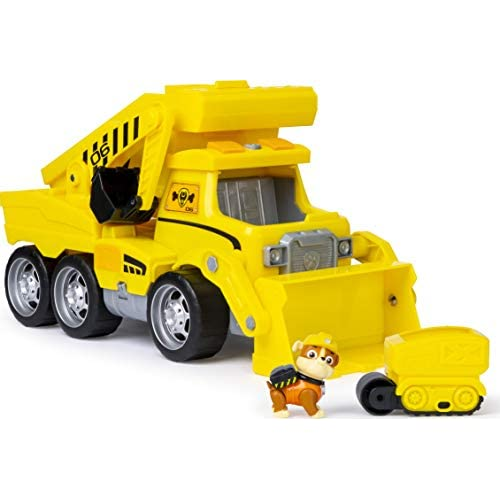 PawPatrol Camion Ultimate Rescue Construction, con Luci, Effetti Sonori e Mini Veicolo, dai 3 Anni in Su