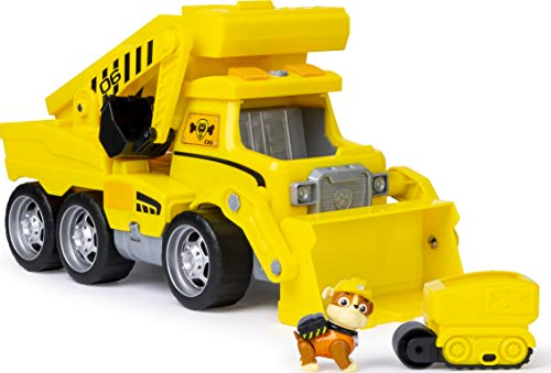 PAW Patrol 6046466 Ultimate Construction Truck mit Rubble - Figur