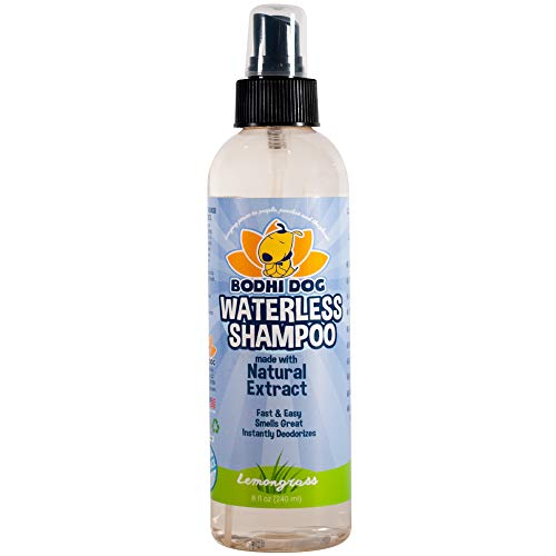 Bodhi Dog Non-Toxic Waterless Dog Shampoo, 8oz (240ml) - Lemongrass