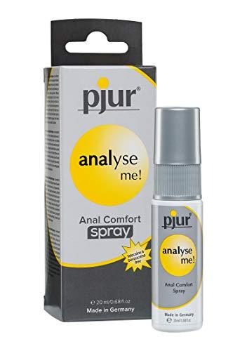 pjur analyse me! Anal Comfort - Spray für komfortablen Analsex - Panthenol & Aloe unterstützen die Dehnfähigkeit der Haut - 1er Pack (1 x 20 ml)