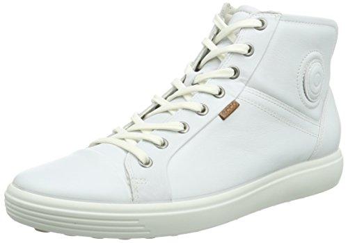 Ecco Damen SOFT7W High-Top, Weiß (White 1007), 35 EU