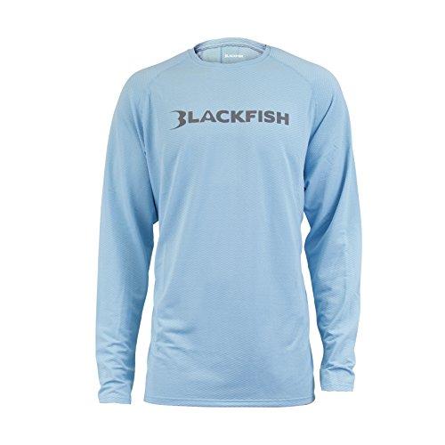 BLACKFISH Shade UPF Angler Long Sleeve X-Large (XL/LIGHT.BLUE) 12408