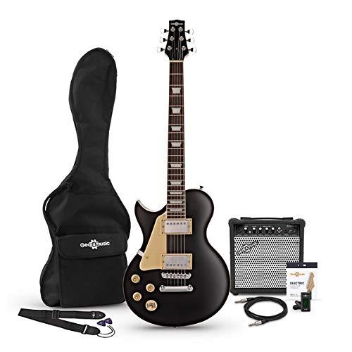 Set de Guitarra Electrica New Jersey Zurda Black