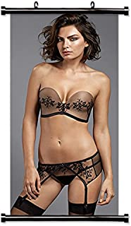 Alyssa Miller Model Wall Scroll Poster (16x32) Inches