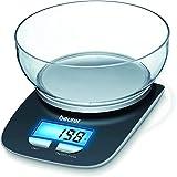 Beurer KS 25 Bilancia Digitale da Cucina con Ciotola