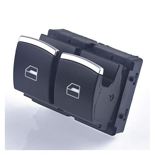 Fangaichen para VW EOS Golf MK5 MK6 MK6 GTI Scirocco Polo Rabbit 2 Puertas Interruptor de Ventana eléctrica Side 5k3 959 857 Adecuado para el Coche