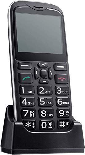 powerful ISHEEP [D210] Large 4G LTE buttons, SOS buttons, easy-to-use unlocked senior phone