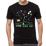 shengqi Intellivision Astrosmash Games Men's Black T-Shirt New Sizes S-2Xl