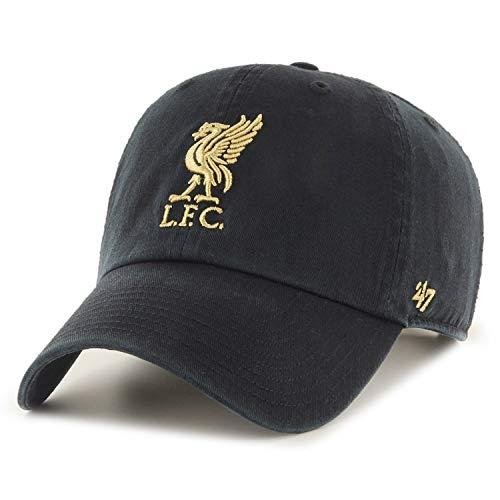 '47 FC Liverpool Basecap Cap Kappe schwarz Premier League England cleanup Logo Gold
