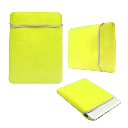 Limited Edition Love My Case amarillo neón 29,46 cm/cm 27,94 Funda de neopreno para portátiles de diseño // bolsa para Microsoft Surface RT 10,6 5 x incluye con paños de limpieza