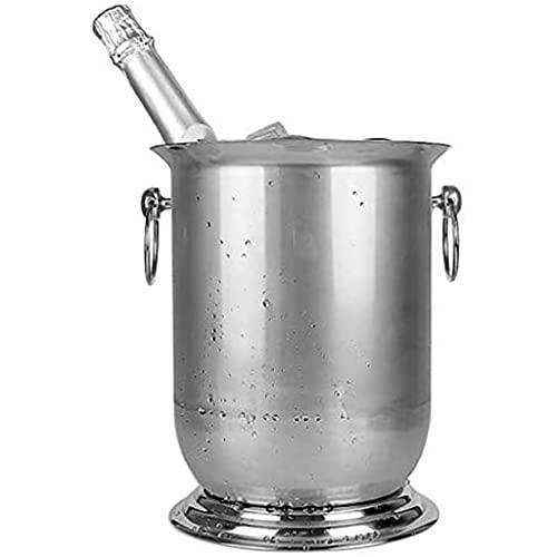 WUHUAROU Cubo de champán de Hielo Botella de Enfriador de Vino Enfriador de Barril de Hielo Cerveza de champán Recipiente de Hielo de Agua fría