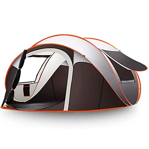 Carpa para Camping,Exterior Automático Tienda De Playa Emergente, Portátil Plegable Espesado Impermeable Tienda De Mochilero para 5-8 Personas