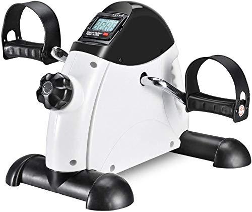 CHAOBANG Mini Pedal Piedra Máquina Ejercicio Mejor Pierna Entrenamiento LCD Pantalla LCD Pedal Pedal Pedal Pedal Fitness con Resistencia Ajustable para El Viejo Unisex