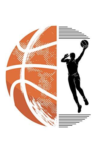Basketball: Notizbuch a5 punktiert mit 120 Seiten | Schönes Geschenk Basketball Sport Hobby Wettkampf Kindergeburtstag Muttertag Vatertag Notizblock Notizheft Journal