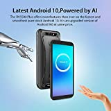 Rugged Phone, Blackview BV5500Plus Rugged Smartphone Waterproof Mobile Phone, Android 10, 4G Dual SIM, 3GB+32GB, 5.5 inches 18:9 Full Screen, 8MP+5MP, 4400mAh Battery, NFC/Face ID/GPS - Black