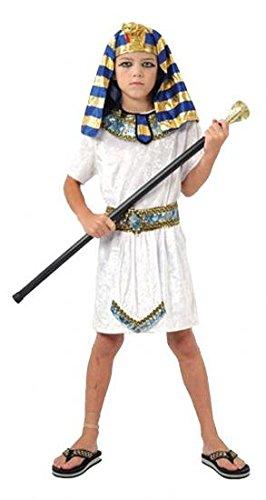 Pams - Costume da faraone egiziano, taglia L (10 - 12 anni)