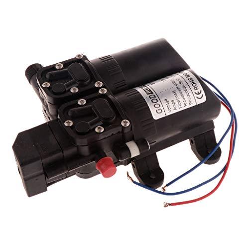 joyMerit Automatische Membran Rückflusspumpe Mit Ruhiger DC Wasserdruckpumpe - Smart-100W-Schwarz
