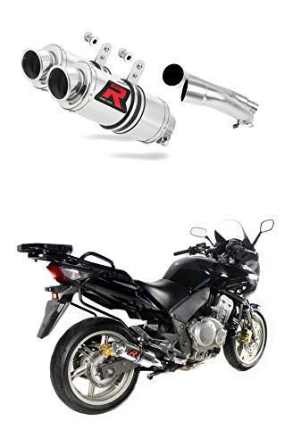 CBF 1000 Pot d'échappement GP I Silencieux Dominator Exhaust Racing Slip-on 2006 2007 2008 2009