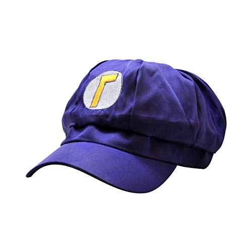 Cosplay Cap Transformation Hat Funny Gift Baseball for Halloween Costume Party Favors (Purple)