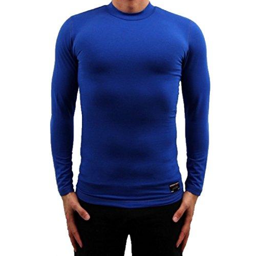 Banger Musik Majoe Sweater Slim Gym Blau (L)