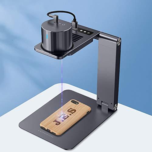 レーザー彫刻機 家庭用 Laserpecker pro 小型レーザー刻印機 DIY道具 コンパクト 軽量 加工機 初心者 プレゼント 刻印 レーザーカッター