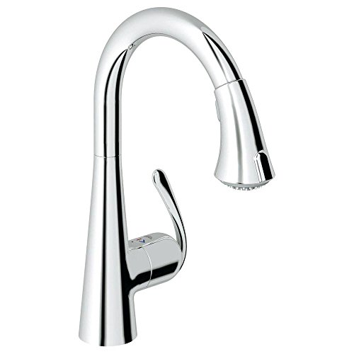 Where To Buy Grohe 3229800e Ladylux3 Pull Down Kitchen Faucet Single Handle Single Hole With Silkmove Cartri Starlight Chrome Lorenza Rondon R778