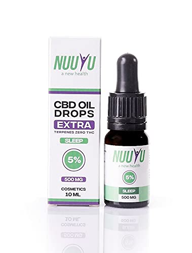 Nuuyu - Sleep - Tropf mit 5% CBD-Öl -...