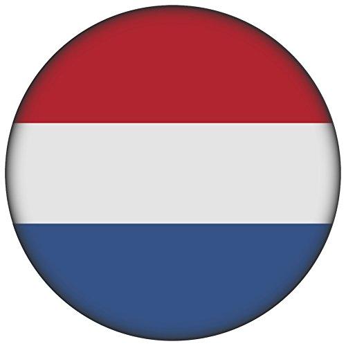 FanShirts4u Button/Badge/Pin - I Love NIEDERLANDE Fahne Flagge HOLLAND (Niederlande/Flagge)