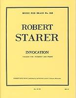 STARER R. - Invocation para Trompeta y Piano