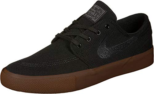Nike Herren SB Zoom Stefan Janoski Skate Schuhe Black/Black-Gum Light Brown 8.5 M US