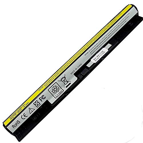 L12L4E01 L12L4A02 Laptop Battery Compatible Lenovo IdeaPad G400S G500S G505S G510S Z710 Z40-70 Z50-70 Z70 G40-70 G50-45 G50-70 G50-80 Fits L12M4A02 L12M4E01 L12S4A02-14.8V 2600mAh