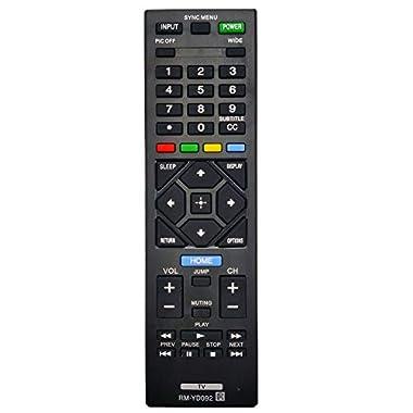 KDL46R453A KDL32R330B KDL-32R330B OEM Sony Remote Control Originally Shipped With: KDL32R400A KDL-32R400A KDL-46R453A