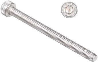 SODIAL M3X40Mm Tornillos de Paso de 0,5 Mm Socket Cap Head Hex Key Screws 20Pcs