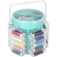 Everyday Home 210 Piece Sewing Kit Deluxe Caddy (Aqua)