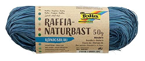 Max Bringmann KG- Raphia Végétal Br in 1m Pelote 50g, 97601, Noir