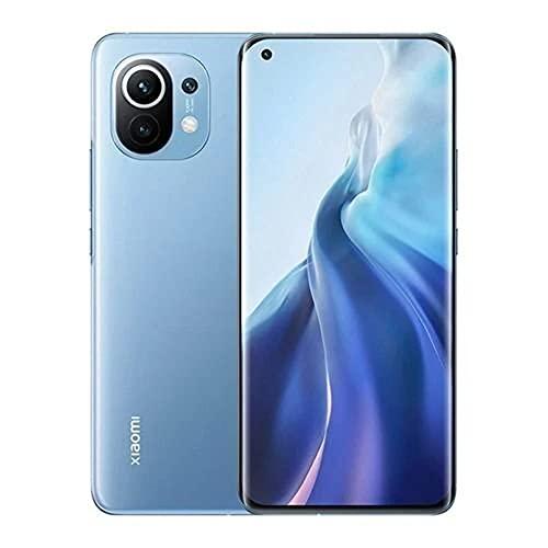 Smartphone Xiaomi Mi 11 5g 8gb ram 256gb rom Snapdragon 888 Cam 108mp azul Pronta Entrega