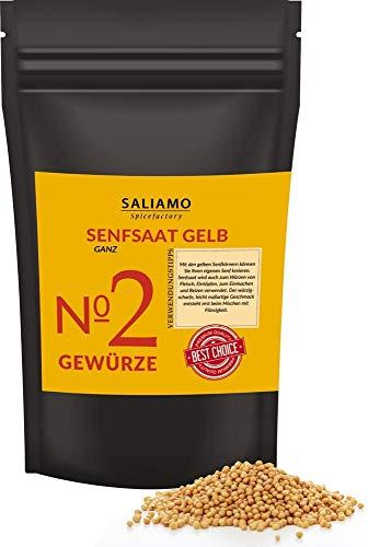 1 Kg Senfsaat, Senfsamen gelb/weiß, Senfkörner, zur Senfherstellung, Senföl, zum einlegen von...