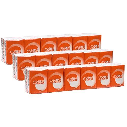 Eslite 4-ply Facial Tissue Pocket Packs (Pack of 36)