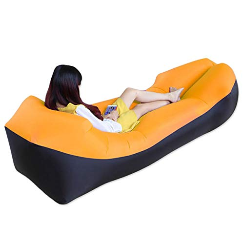 AYUE® Sofa Hinchable del Aire del Ocioso de con el Paquete Portable para Viajar, Acampar, Senderismo, Piscina y Partidos de la Playa