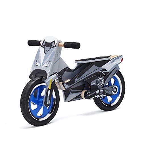 Balance Scooter bicicletta legno Yamaha T-Max senza pegali regalo bambini per sviluppare il senso dell'equilibrio