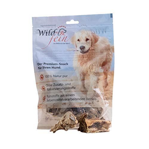 Wild & Fein Hundesnack Rehhalsknochen, gesägt