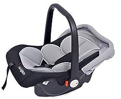 Little Pumpkin - Kiddie Kingdom - Infant Car Seat Cum Carrycot (Black Grey),R for Rabbit Baby Products Pvt Ltd.