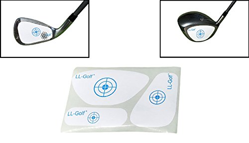 LL-Golf ® 90 stuck Set Golf Impact Tapes / Label met 30 drivers/ hout + irons / wedges + smalle hout/hybride tapes / golfclubs slagoppervlak Impact Stickers / etiketten Rechterhand